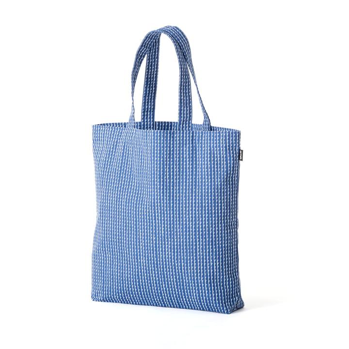 Rivi Stofftasche von Artek in Blau / Weiss