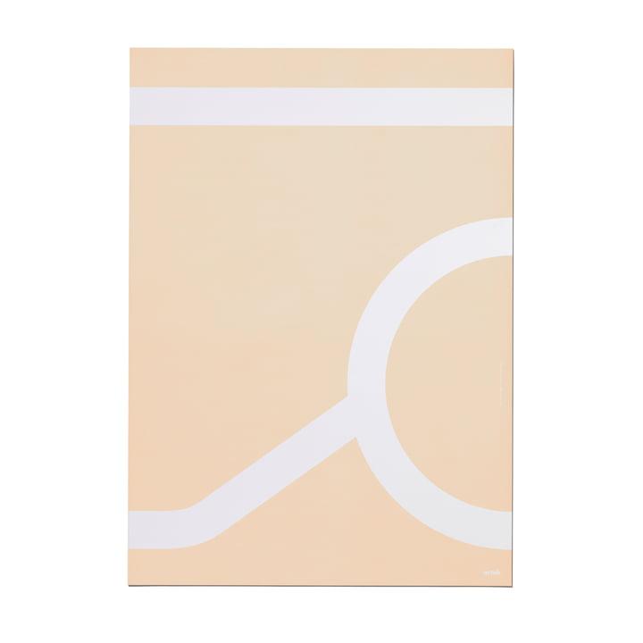 Outline Poster 50 x 70 cm Tea Trolley 900 von Artek