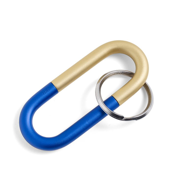 Cane Key Ring von Hay in Blau