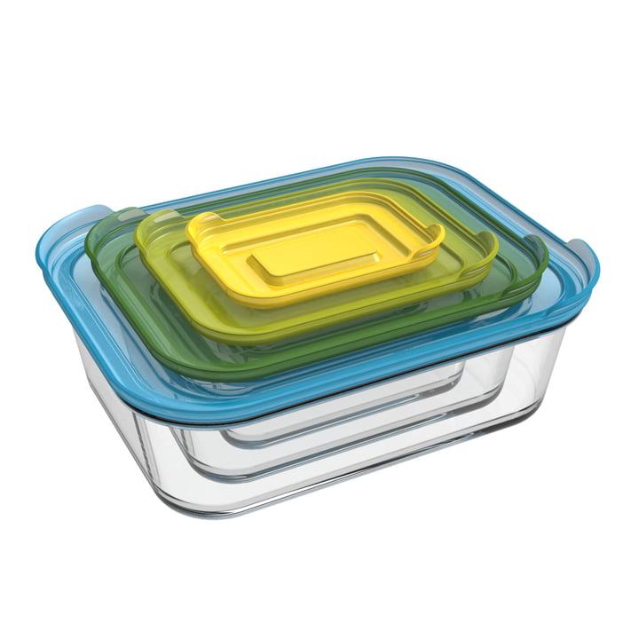 Nest Glass Storage Behälterset (4-teilig) von Joseph Joseph