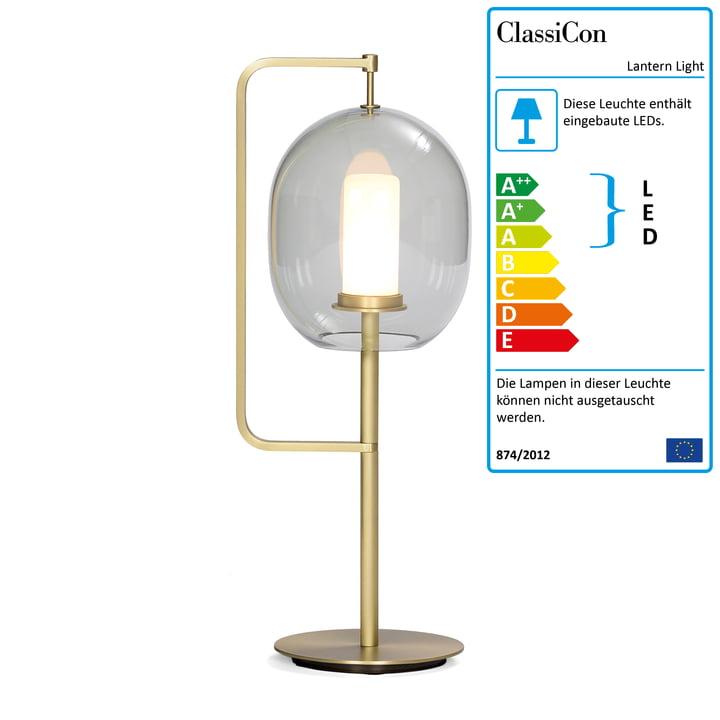 Lantern Light Tischleuchte von ClassiCon in Messing