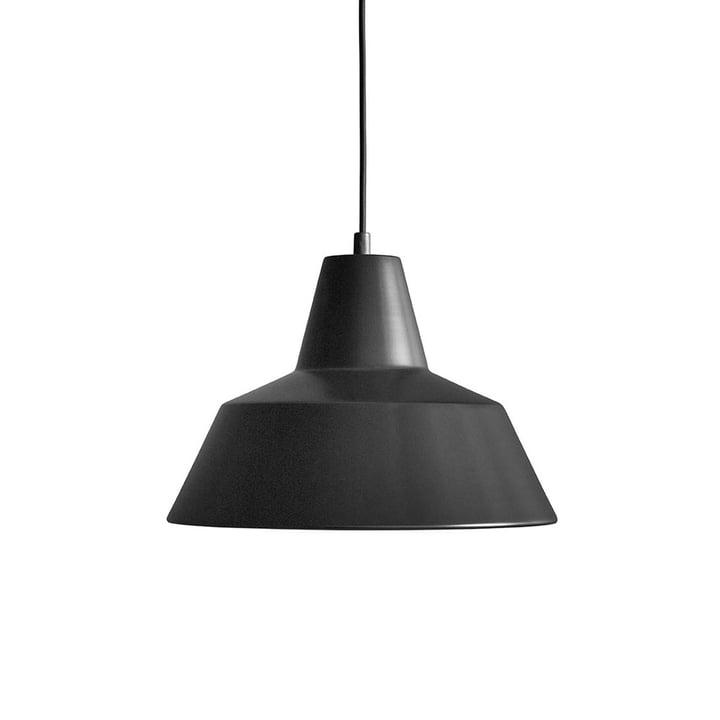 Workshop Lamp W3 von Made by Hand in Mattschwarz / Schwarz