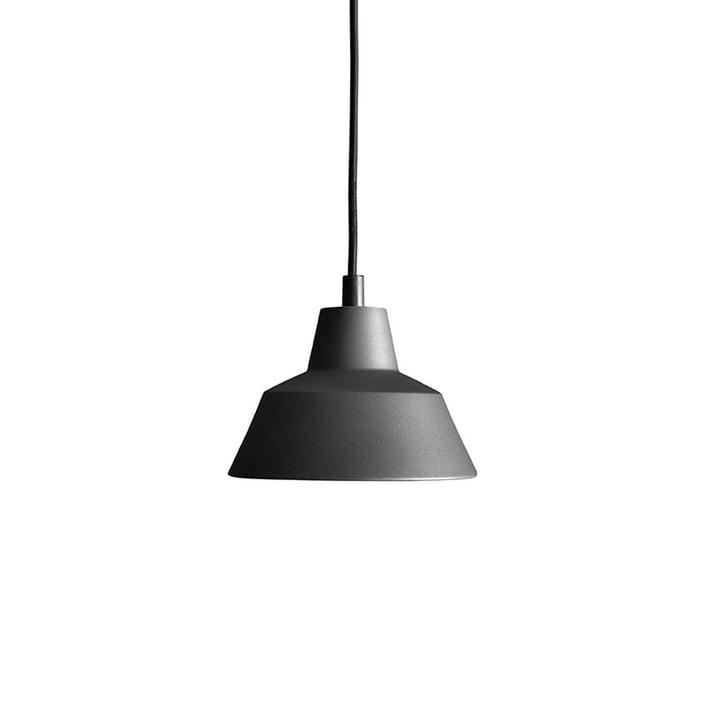 Die Made by Hand - Workshop Lamp W1 in anthrazitschwarz / schwarz
