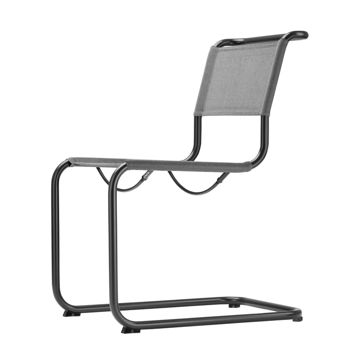 S 33 N All Seasons Stuhl von Thonet in Schwarz / Anthrazit