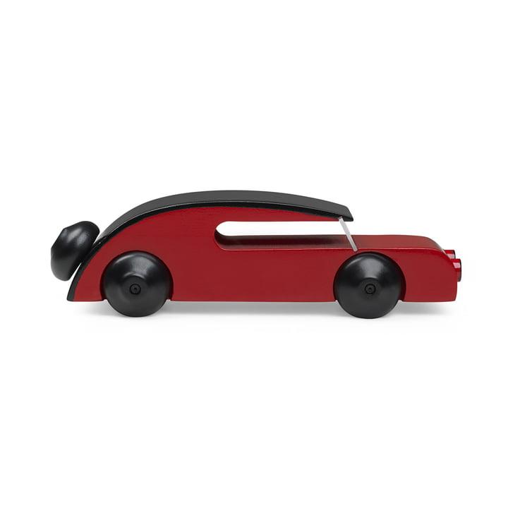 Automobil Sedan 13 cm von Kay Bojesen in Schwarz / Rot