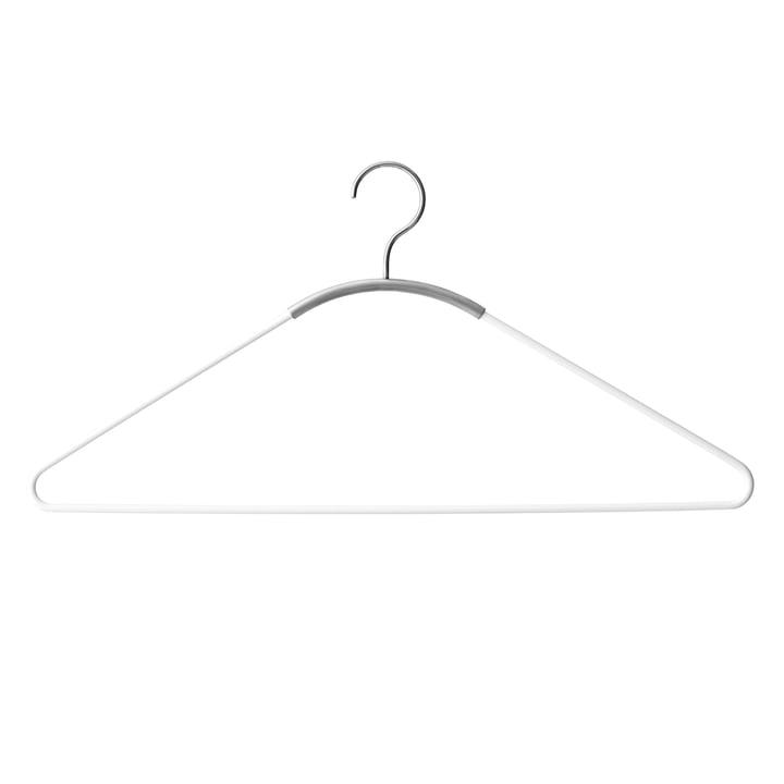 Ava Kleiderbügel von Menu in Weiß / Edelstahl