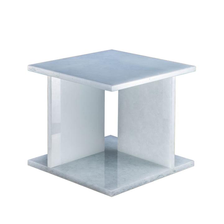 Font Tisch low H 36,2 cm von Pulpo in Polarweiss