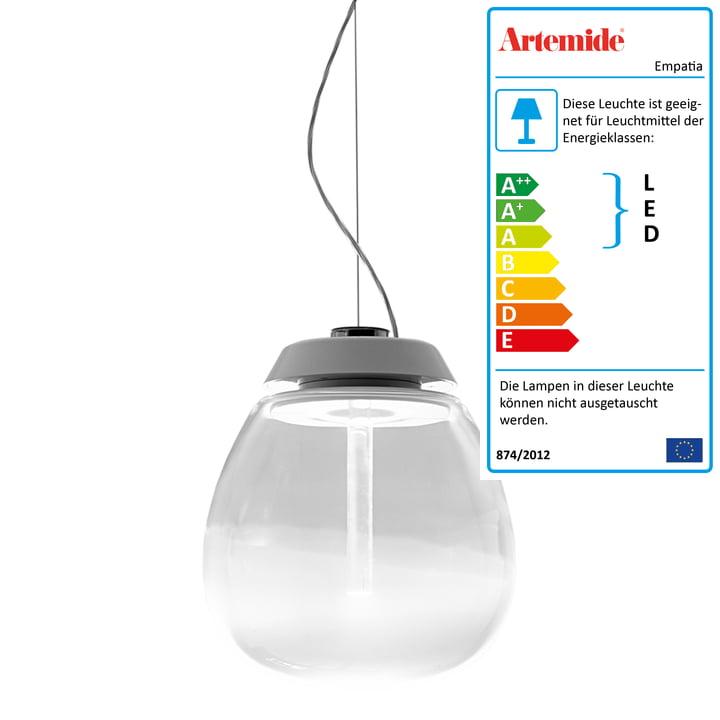 Artemide - Empatia 16 Sospensione LED Pendelleuchte, weiß