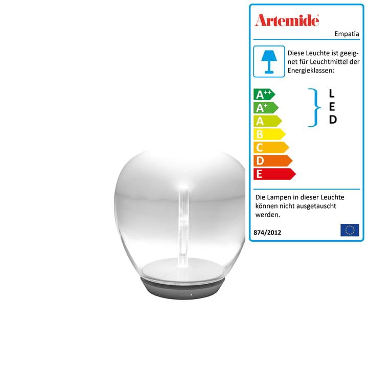 Artemide - Empatia 16 Tavolo LED Tischleuchte, weiss