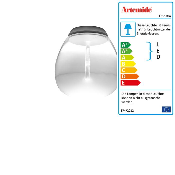 Artemide - Empatia 16 Soffitto LED Deckenleuchte, weiss