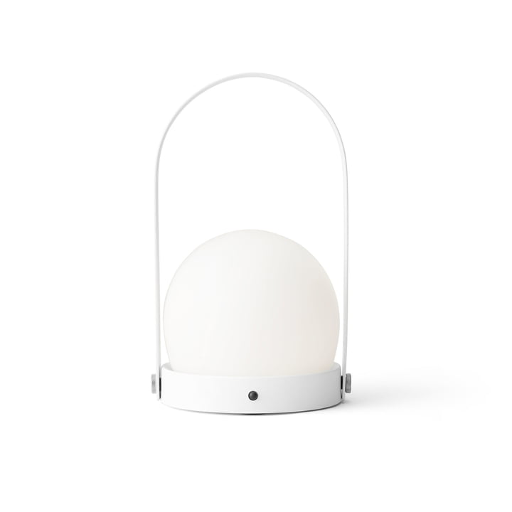 Carrie LED Lamp von Menu in Weiss