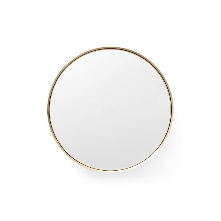 Darkly Spiegel S Ø 20 cm von Menu aus Messing
