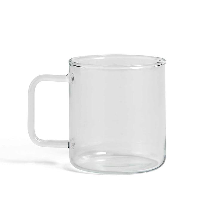 Glas Kaffeetasse von Hay in klar