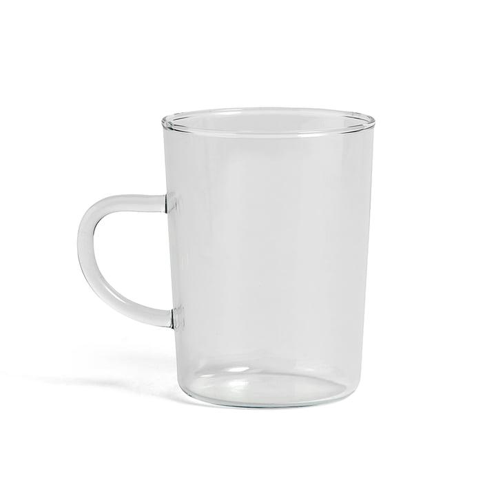 Glas Teetasse von Hay in klar