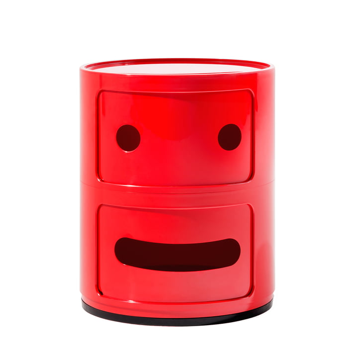 Kartell - Componibili Smile 4925, rot
