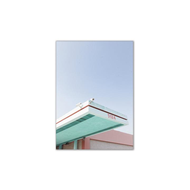 Los Angeles is Pink 01 30 x 40 cm von Paper Collective