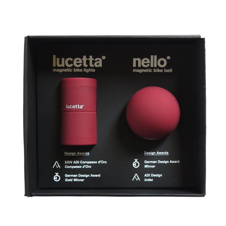 Palomar - The magnetic Duet: Lucetta Velolicht + Nello Veloklingel, burgund