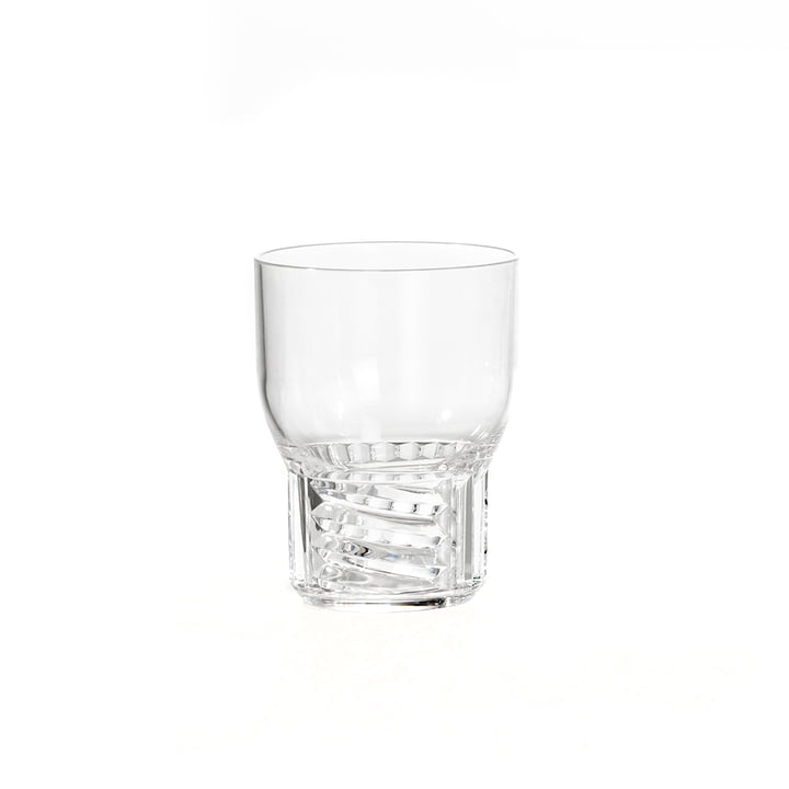 Das Kartell - Trama Drink Trinkglas, H 11 cm / glasklar
