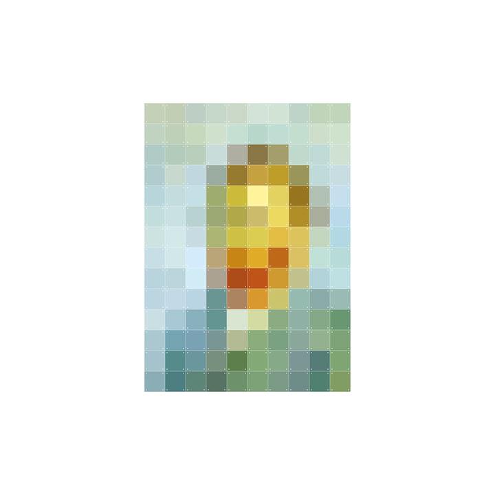 Van Gogh (Pixel) 100 x 140 cm von IXXI
