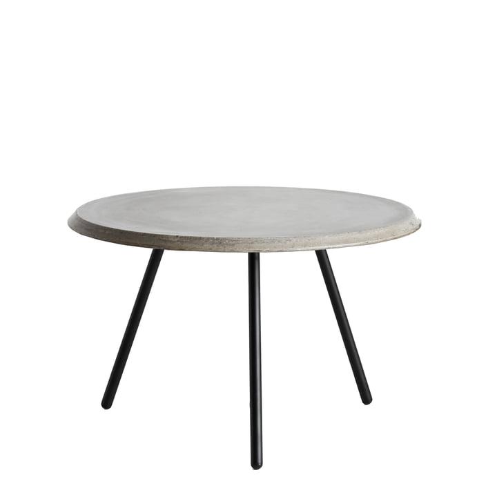 Soround Side Table H 39.5 cm / Ø 60 cm von Woud in Beton