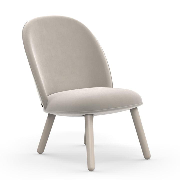 Der Normann Copenhagen - Ace Lounge Chair Velour in beige