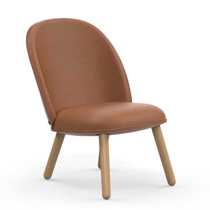Der Normann Copenhagen - Ace Lounge Chair Tango Leather, brandy