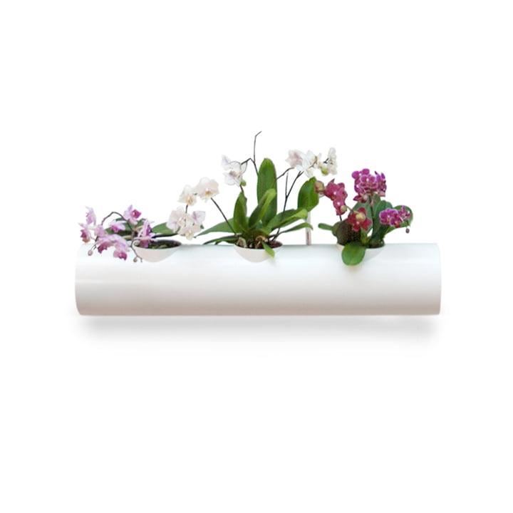 Zusatzröhre für Hängegarten von urbanature in Weiss