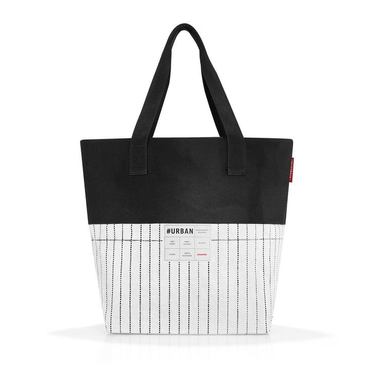 Die reisenthel - urban bag paris, schwarz / weiss