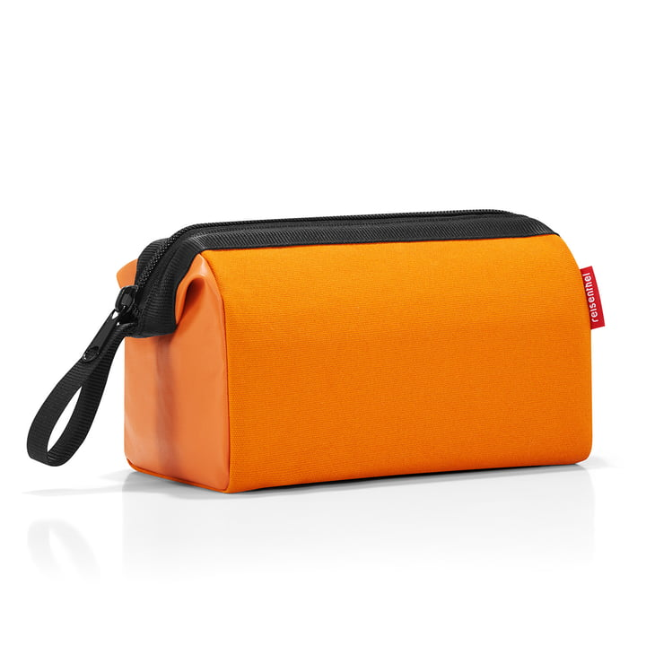 travelcosmetic canvas von reisenthel in Orange