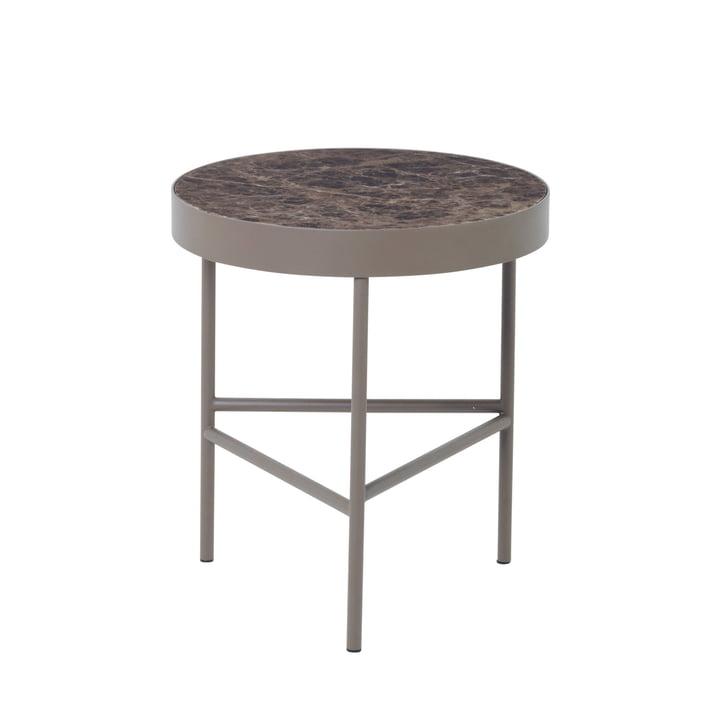ferm Living - Marble Table medium, braun