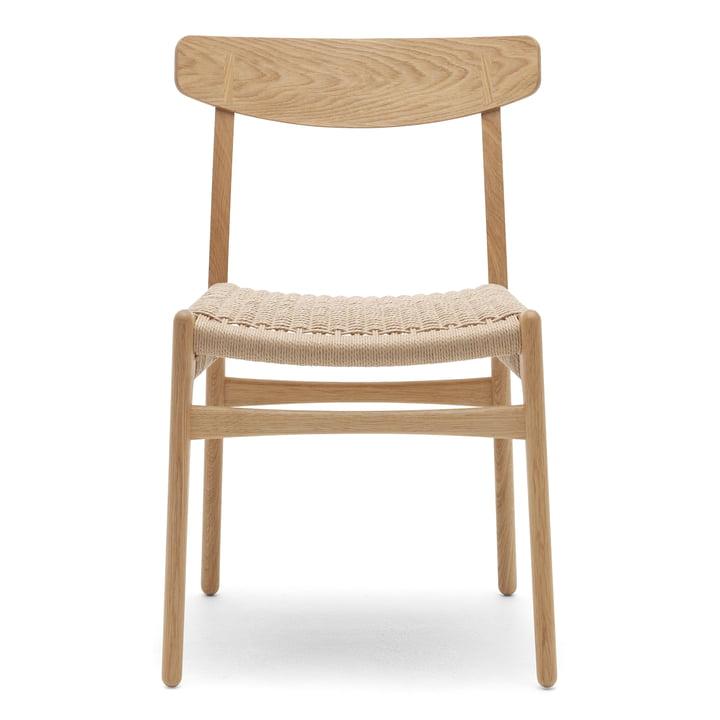 Der Carl Hansen - CH23 Chair, Eiche geölt / Naturgeflecht
