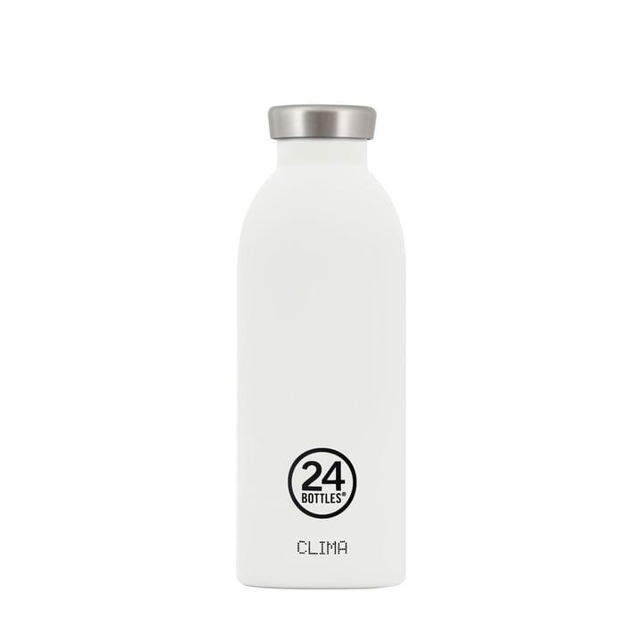 24Bottles - Clima-Bottle 0.5 l, weiß