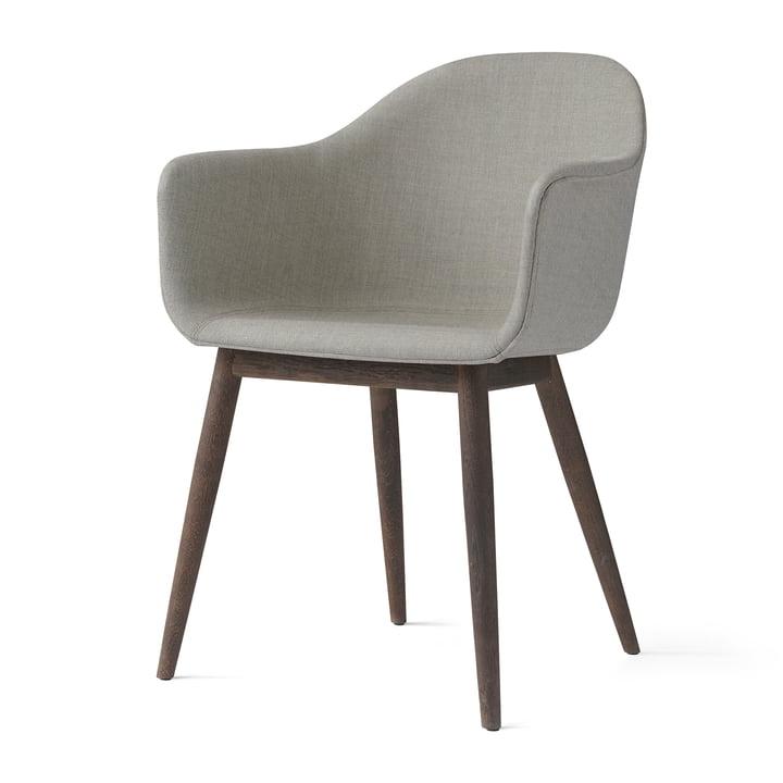 Menu - Harbour Chair (Holz), eiche dunkel / Polsterung Remix 233