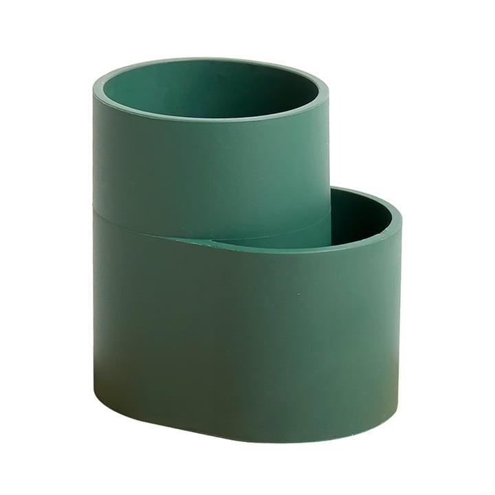 Der Hay - Dish Drainer Abtropfbehälter, dunkelgrün