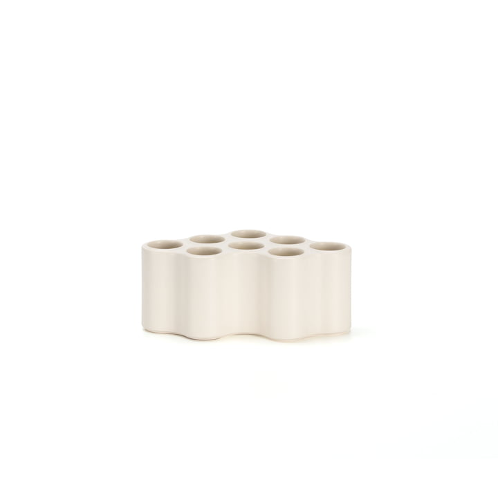 Die Vitra - Nuage céramique Vase, S in weiss