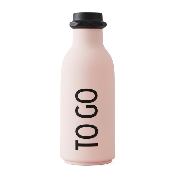 Die Design Letters - To Go Wasserflasche in pink