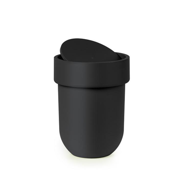 Umbra - Touch Abfalleimer, schwarz