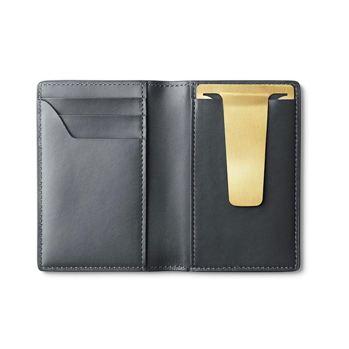 Shades Portemonnaie in grau / gold von Georg Jensen