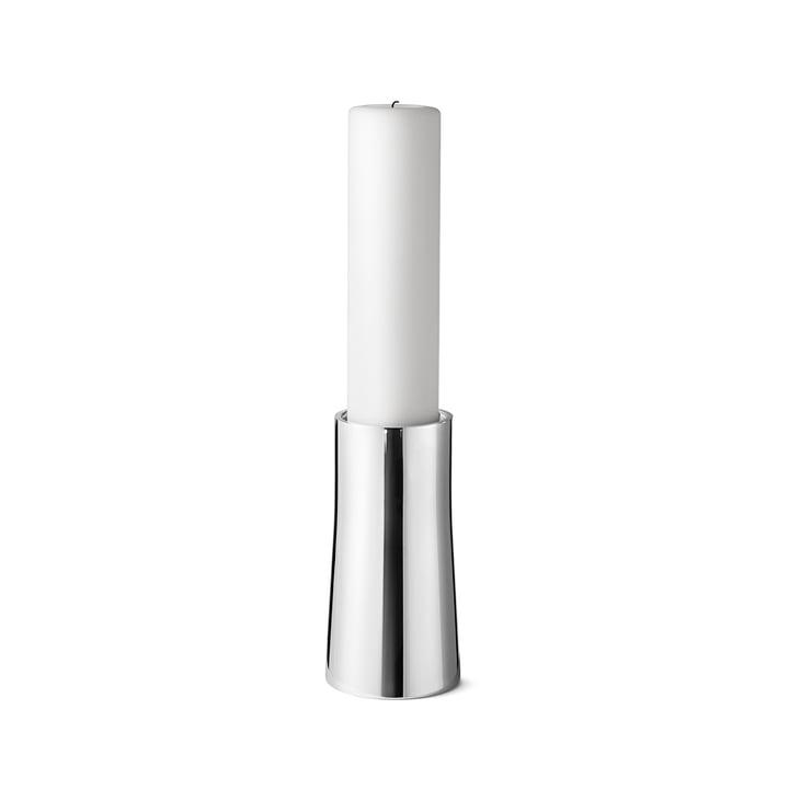 Ambience Kerzenhalter small aus Edelstahl von Georg Jensen