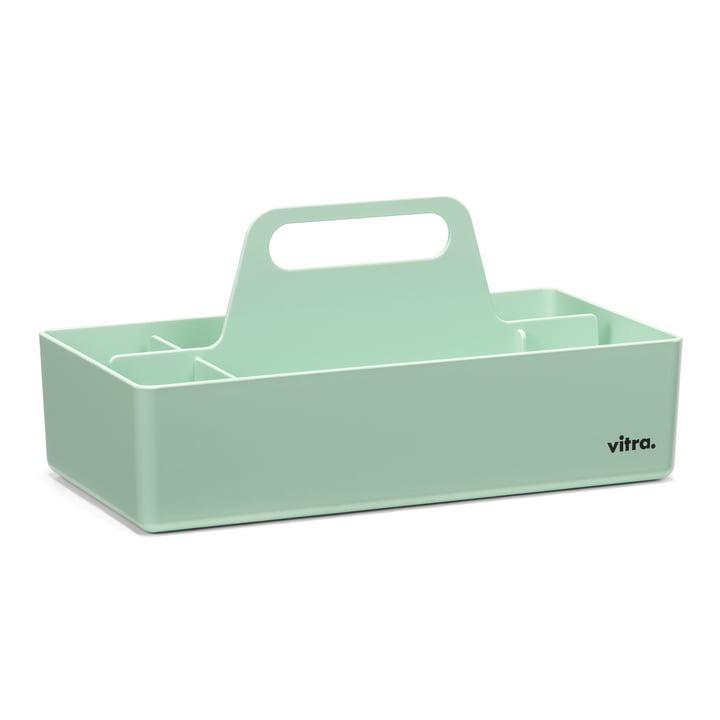 Mintfarbene Storage Toolbox von Vitra