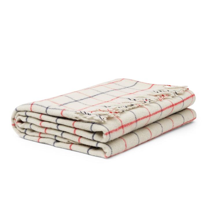 Tivoli - Throw Decke, 130 x 200 cm, simple check / warm grey