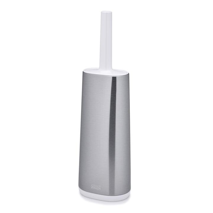 Joseph Joseph - Flex Steel Toilettenbürste, Edelstahl / weiss