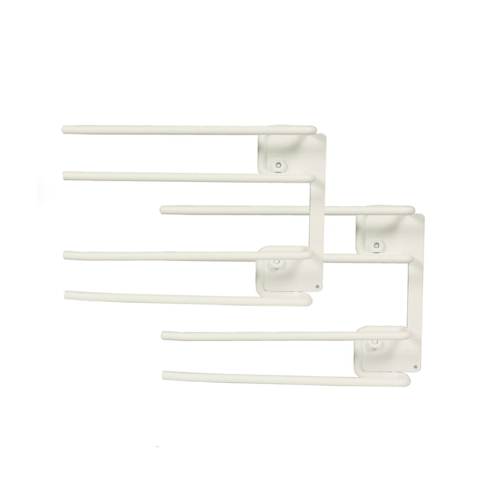 String - Hanger Rack Modul für Weingläser, 16 x 20 cm, weiss (2er-Set)