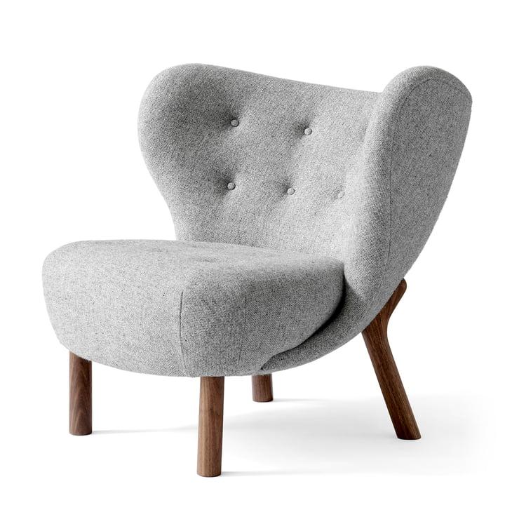 Little Petra Lounge Chair von &tradition in Wallnuss / Hallingdal 130