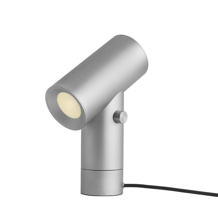 Beam LED-Tischleuchte von Muuto in Aluminium