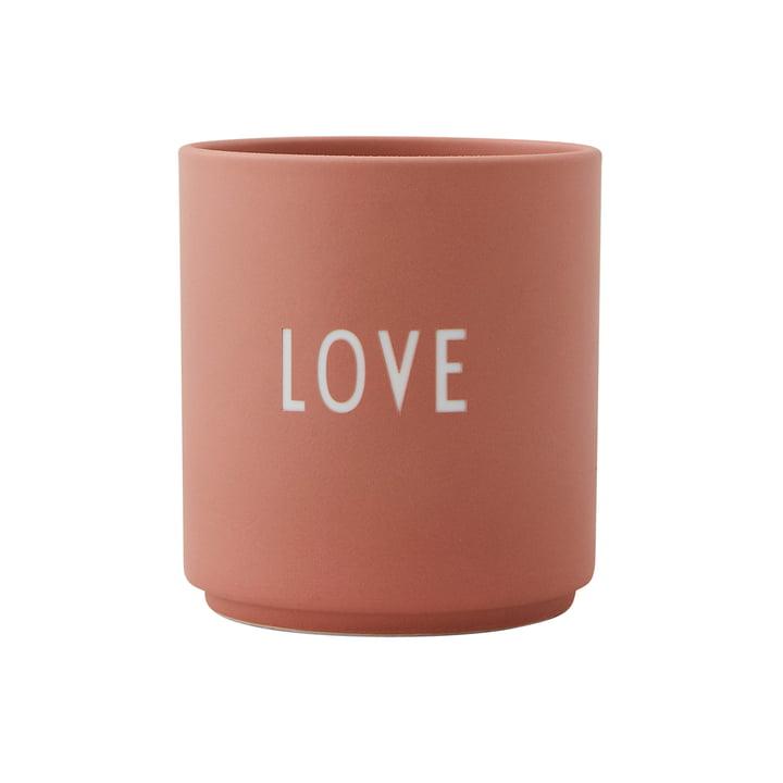 AJ Favourite Porzellan Becher Love von Design Letters