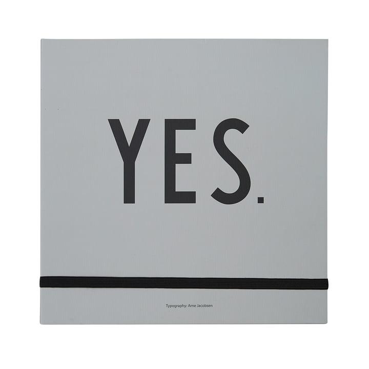 Hochzeitsbuch von Design Letters in grau