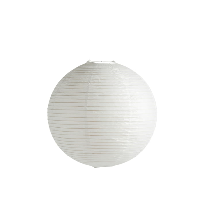 Rice Paper Lampenschirm Ø 50 cm von Hay in classic white