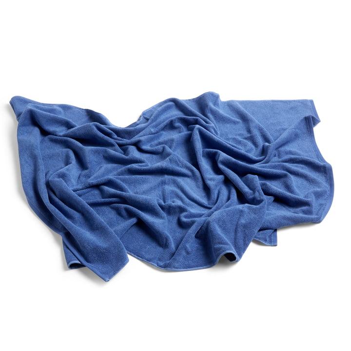 Frotté Badetuch 100 x 150 cm von Hay in blau