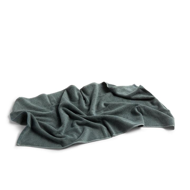 Frotté Handtuch 100 x 50 cm von Hay in dunkelgrün